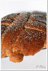 Weekend makowy 2011 - Artos, gercki chleb świąteczny.
